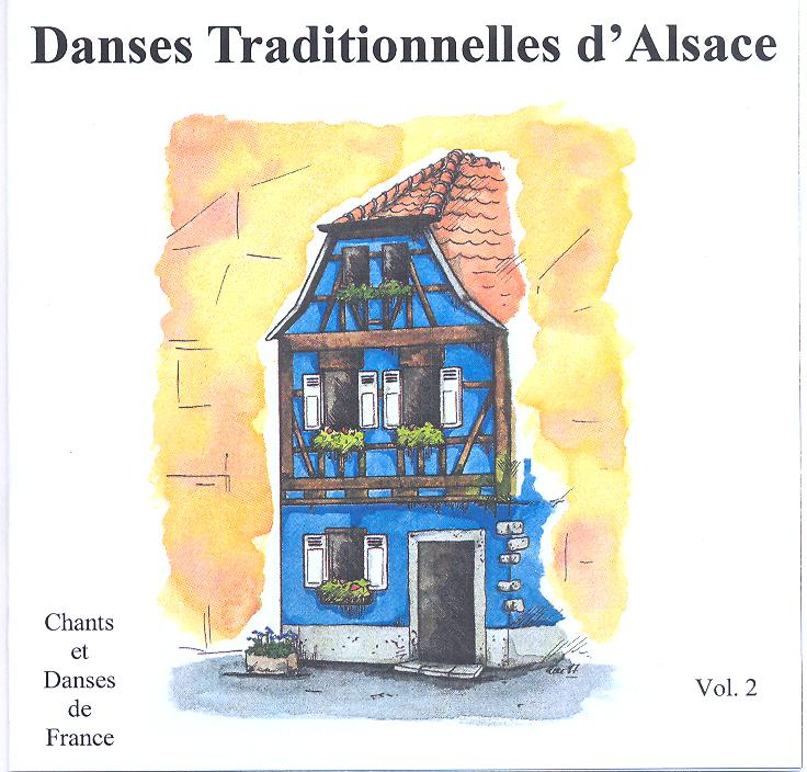 Contrerond - Danses traditionnelles d'Alsace Vol 2
